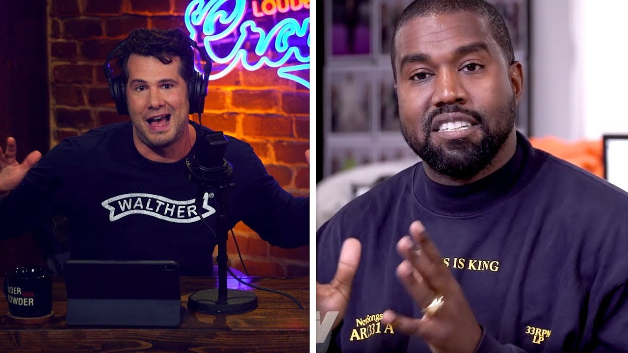 KANYE WEST: Christian or Fraud?   Louder with Crowder