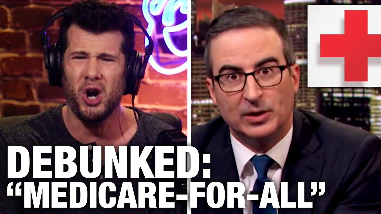 REBUTTAL: John Oliver's Healthcare Lies | Louder with Crowder