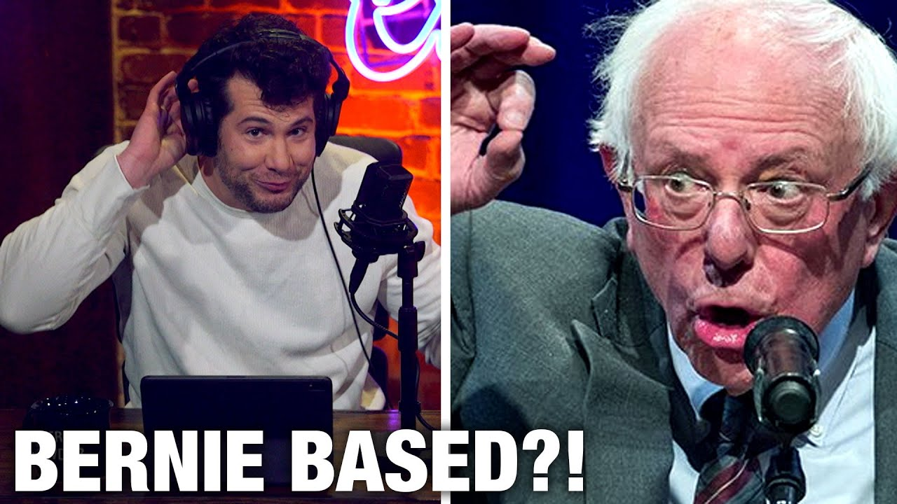 FLIP-FLOP: Bernie AGAINST Immigration?! | Louder with Crowder