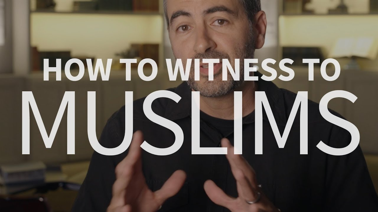 How can Christians witness to Muslims?