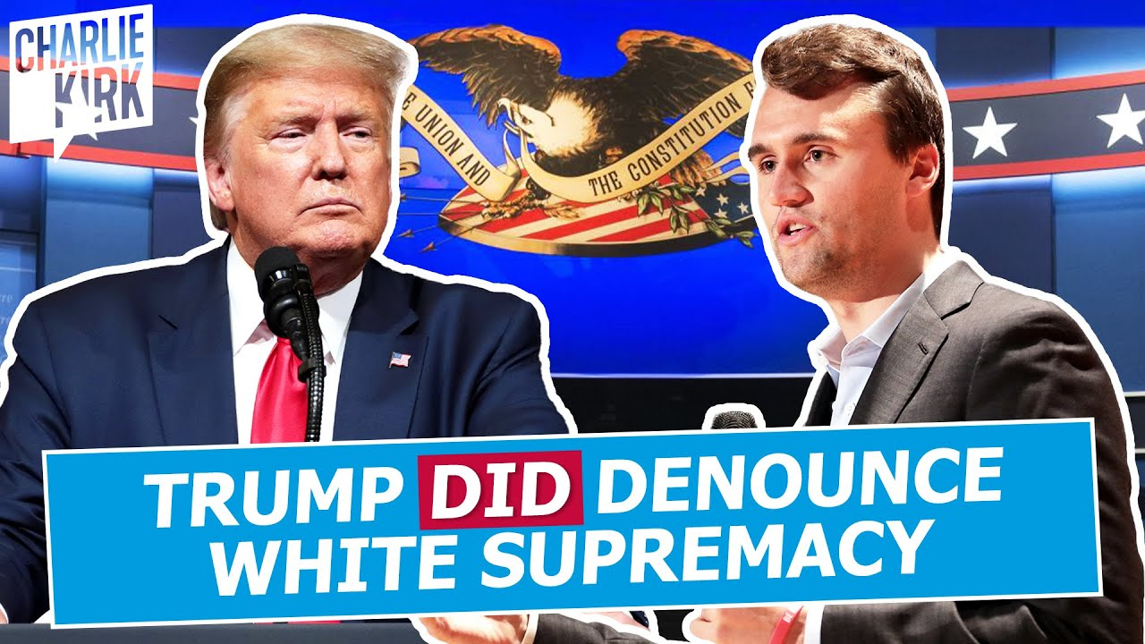 Trump DID Denounce White Supremacy