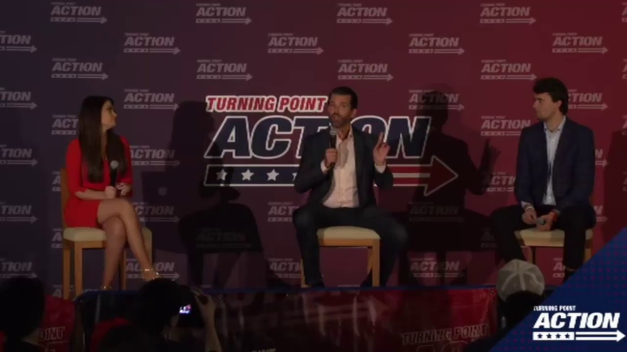 Charlie Kirk, Donald Trump Jr. and Kimberly Guilfoyle LIVE from Swing State Arizona!