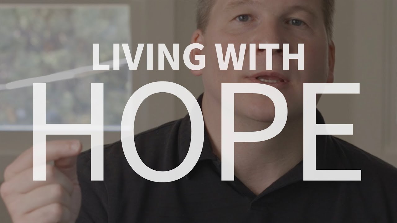 Can we maintain hope in a broken culture?