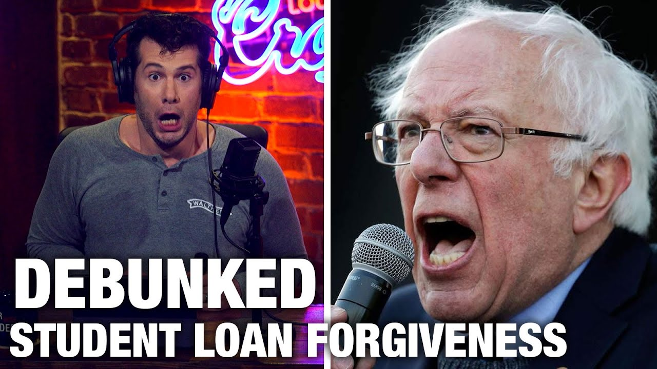 DEBUNKED: Democrats' Student Loan Grift | Louder with Crowder