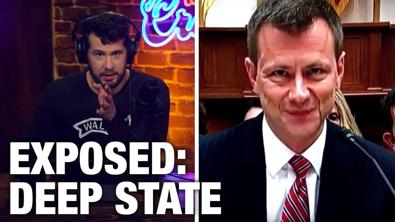 EXPOSED: Deep State Plot Against Trump   Louder with Crowder